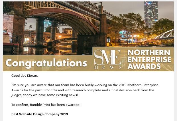 SME Northern Enterprise Awards
